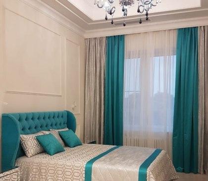 Текстильный дизайн для 2-этажной квартиры в Москве