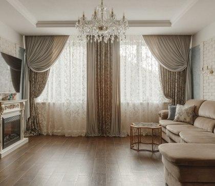 Текстильный дизайн для загородного дома