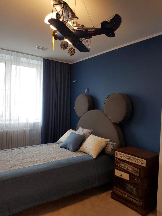 Текстильный дизайн для 2-этажной квартиры в Москве Фото 5