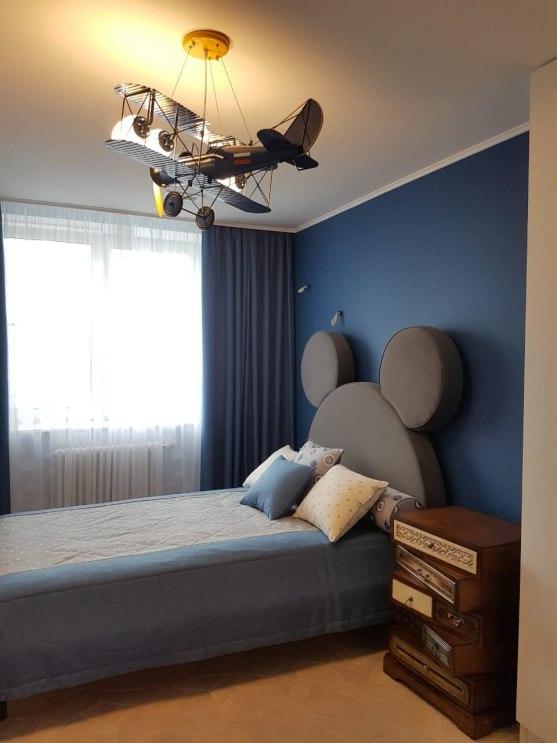 Текстильный дизайн для 2-этажной квартиры в Москве Фото 4