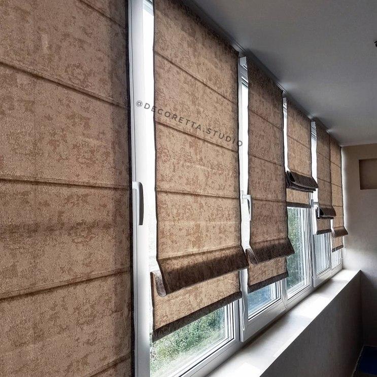 Шторы на балкон Фото 1