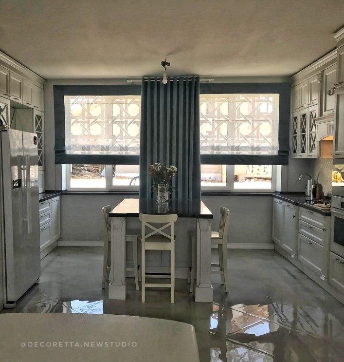 Шторы для кухни/столовой Фото 50