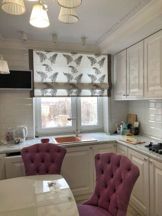 Шторы для кухни/столовой Фото 52