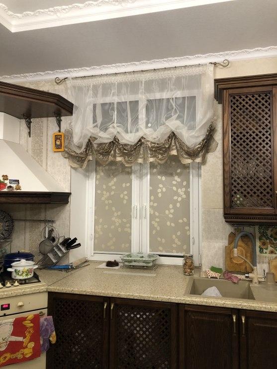 Шторы для кухни/столовой Фото 64