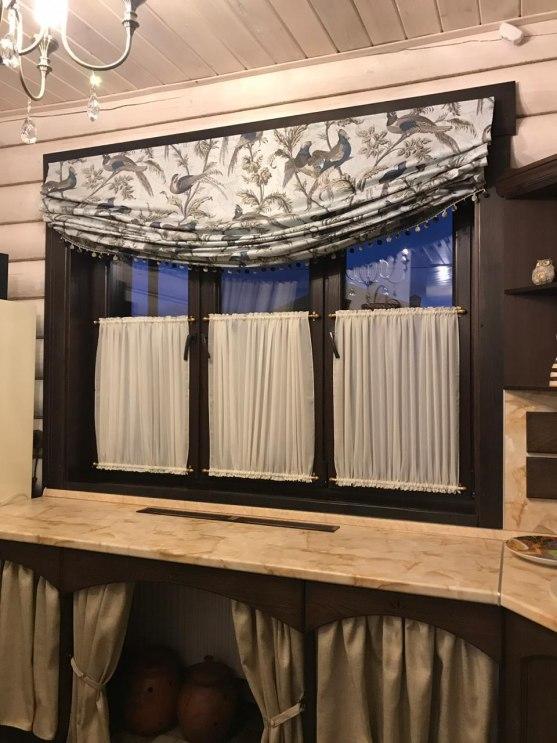 Шторы для кухни/столовой Фото 12