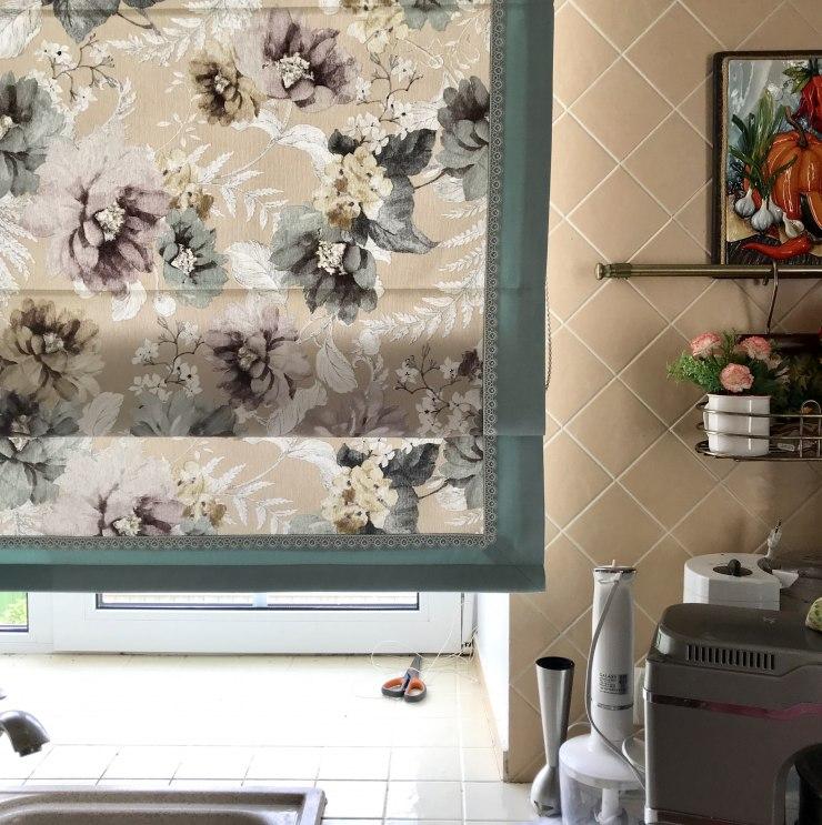 Шторы для кухни/столовой Фото 27