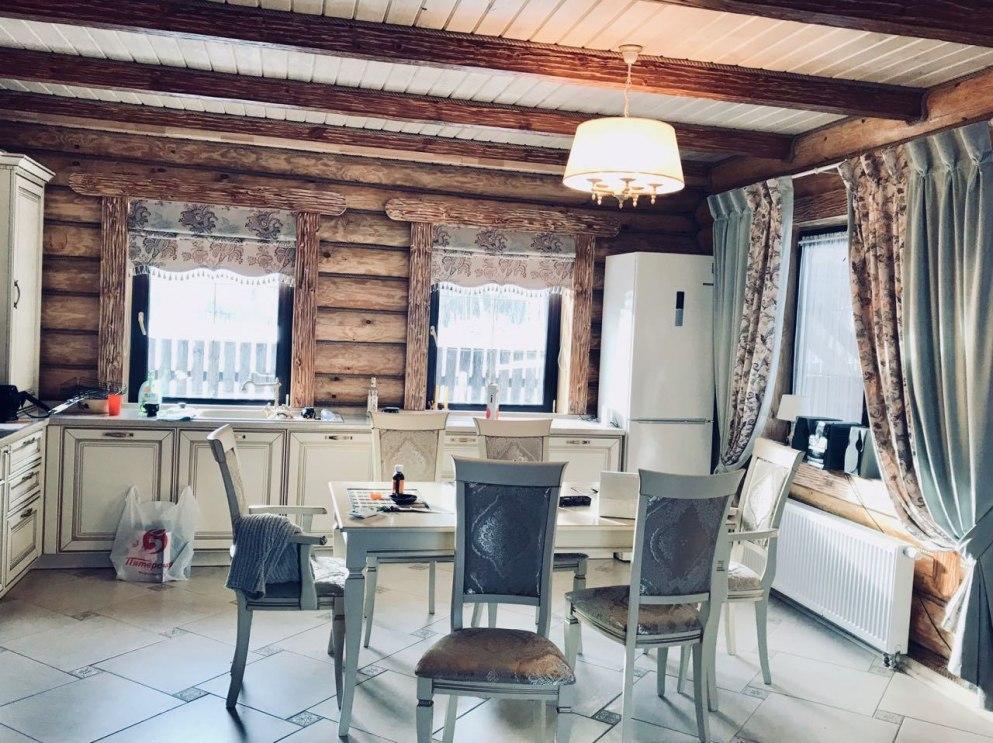 Шторы для кухни/столовой Фото 38