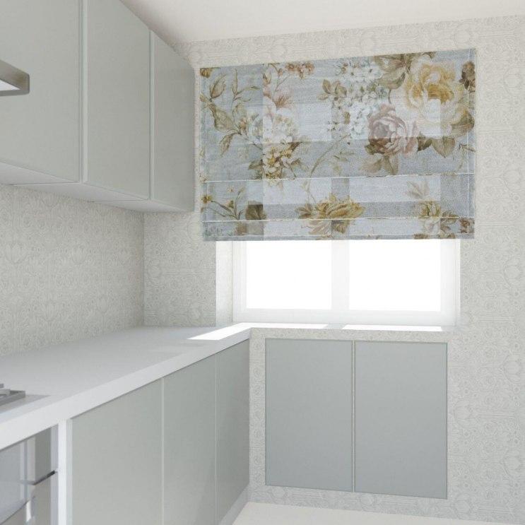 Шторы для кухни/столовой Фото 39