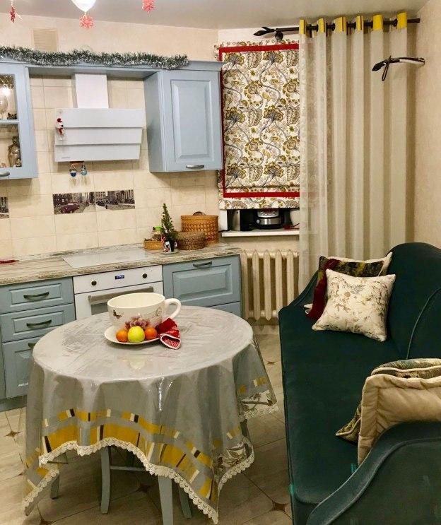 Шторы для кухни/столовой Фото 40