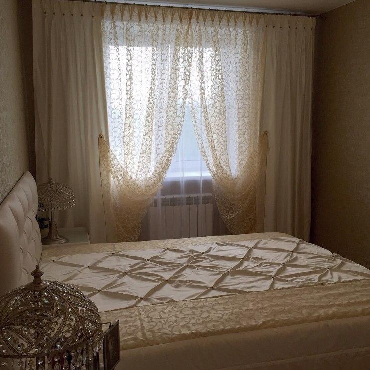 Шторы в спальню Фото 23