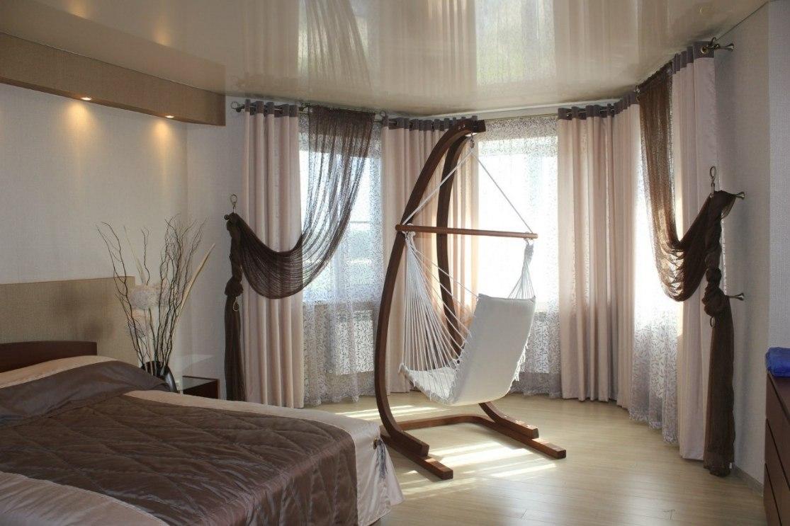 Шторы в спальню Фото 25
