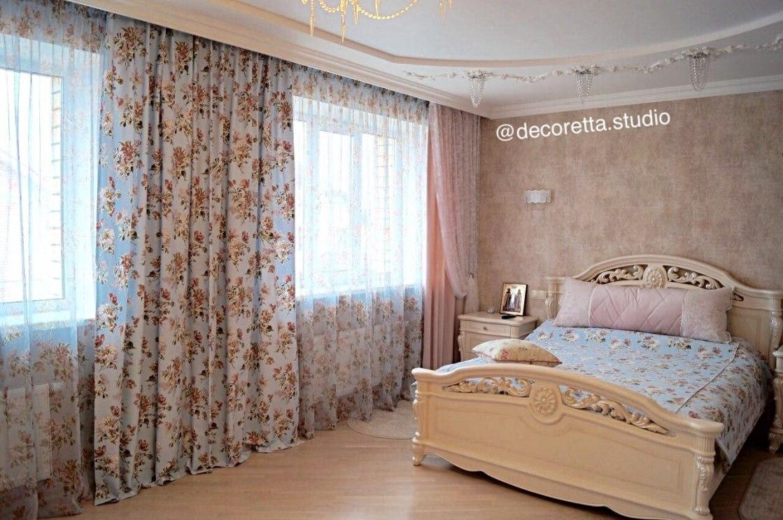 Шторы в спальню Фото 30