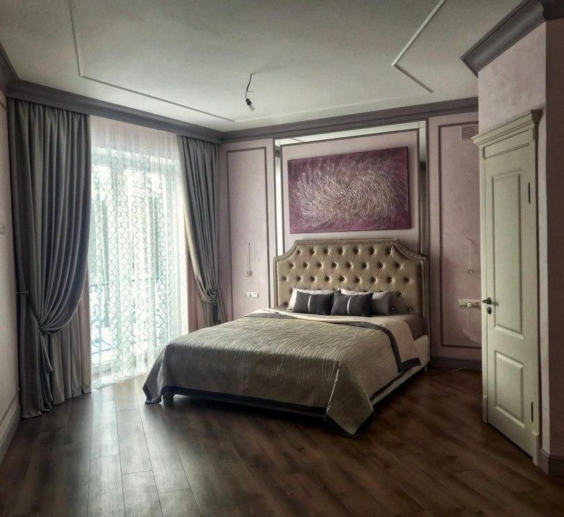 Шторы в спальню Фото 31