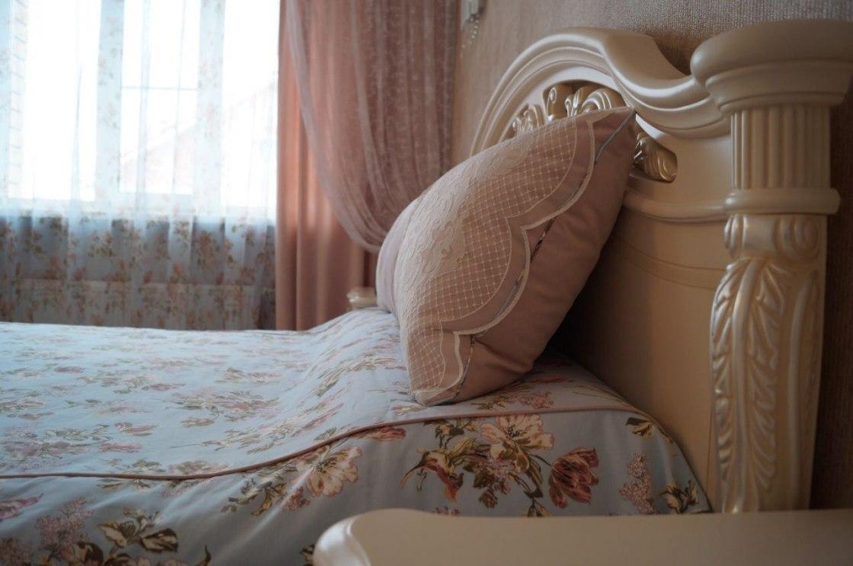 Шторы в спальню Фото 38
