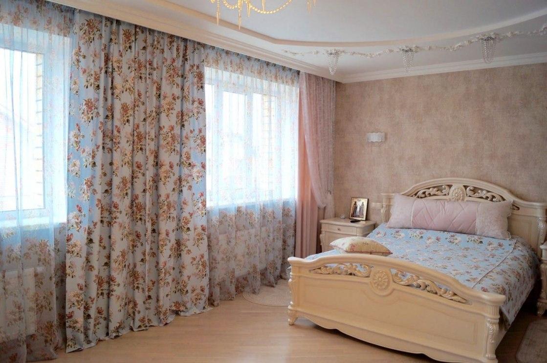 Шторы в спальню Фото 39